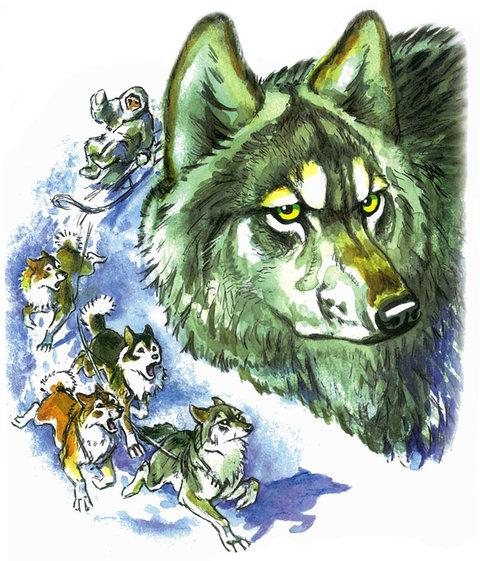 Джек лондон белый клык (сборник). С комментариями для школьников.